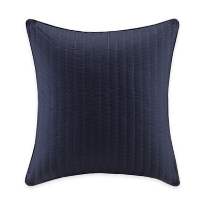 image of INK+IVY Luna European Pillow Sham in Indigo