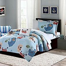 image of mi zone kids ahoy matey 6piece comforter set in blue