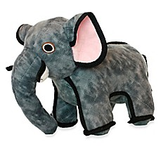 image of Tuffy® Elephant Dog Toy in Grey