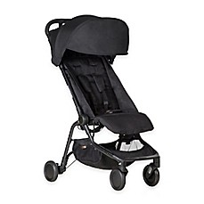 image of Mountain Buggy® Nano Travel Stroller in Black