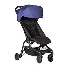 image of Mountain Buggy® Nano Travel Stroller in Navy