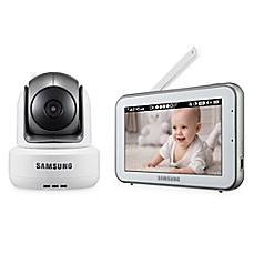 image of Samsung BrightVIEW Digital HD Video Baby Camera and Monitor with 5-Inch Color Touch Screen
