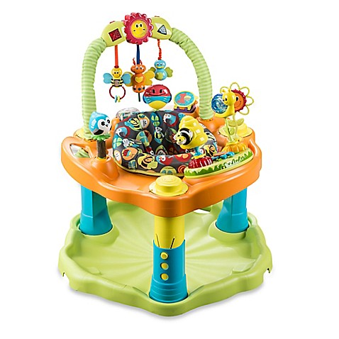 evenflo exersaucer double fun bumbly activity center buybuy baby. Black Bedroom Furniture Sets. Home Design Ideas