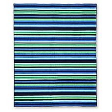 image of Side Stripe Beach Towel For 2