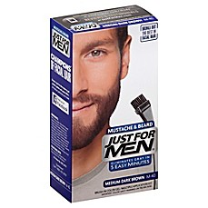 image of Just For Men® Mustache and Beard Brush-In Color Gel in Medium-Dark Brown