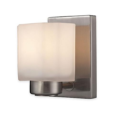 Buy elk lighting new haven 1 light wall mount vanity for Elk bathroom lighting