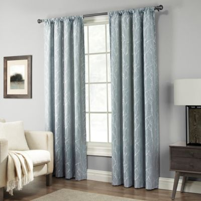 Pinehurst Rod Pocket Window Curtain Panel Bed Bath Amp Beyond