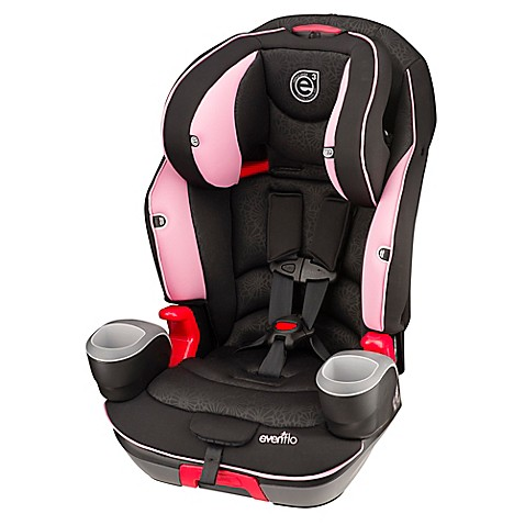 buy evenflo evolve 3 in 1 combination booster car seat in pink daisies from bed bath beyond. Black Bedroom Furniture Sets. Home Design Ideas