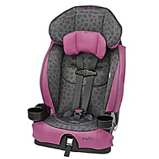 image of Evenflo® Chase® LX Harnessed Booster Seat in Tonal Hearts