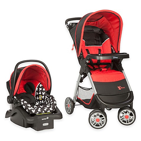 Disney 174 Amble Travel System In Mickey Silhouette Buybuy Baby