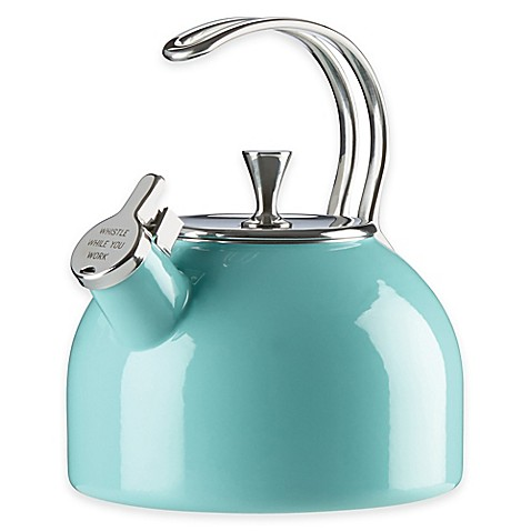 Kate spade new york all in good taste 2 5 qt tea kettle for Bed bath and beyond kate spade