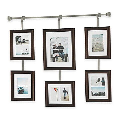 Wall Solutions 10 Piece Rod And Frame Set In Pewter Bed