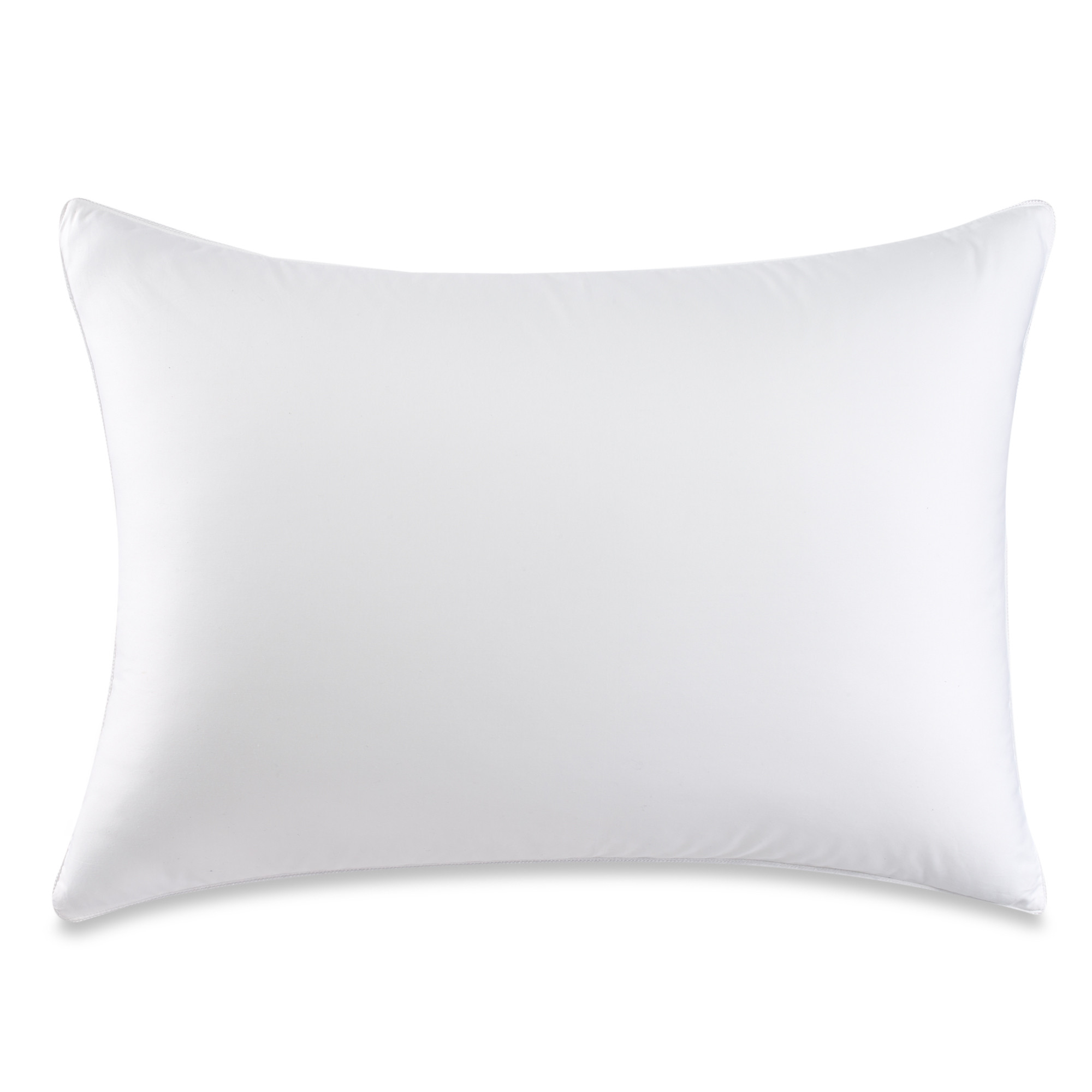 Therapedic Dacron Memorelle Fiber Back/Stomach Sleeper Pillow in White