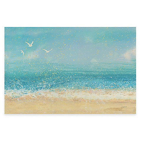 image of splatter beach i wall art - Coastal Wall Decor