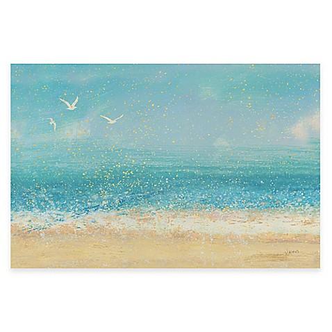 Beach Wall Art splatter beach i wall art - bed bath & beyond
