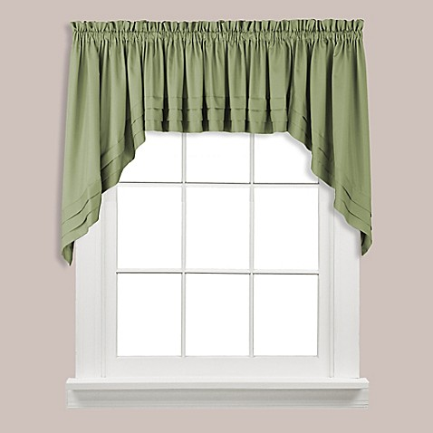 Buy Holden Swag Valance In Sage From Bed Bath Amp Beyond