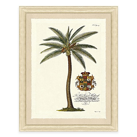 Buy palm tree ii framed art print from bed bath beyond for Where to buy framed art