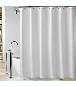 Cortina de baño Wamsutta® Diamond de algodón metalassé, 1.82 x 1.82 m en blanco