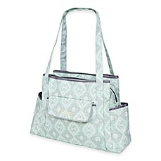 image of The Bumble Collection™ Rachel Roundabout Diaper Bag in Majestic Mint