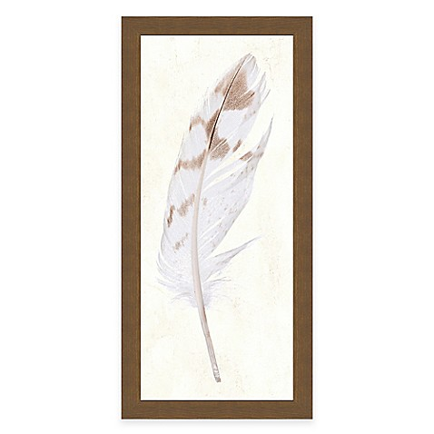 Buy feather panel i framed art print from bed bath beyond for Where to buy framed art