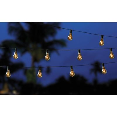Filament 10-Bulb String Lights - Bed Bath & Beyond