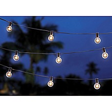 image of 20-Bulb Solar String Lights