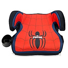 image of KidsEmbrace Marvel Spider-Man Backless Booster Car Seat