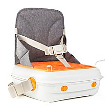 image of benbat™ YummiGo™ Portable Booster Seat in Grey/Orange