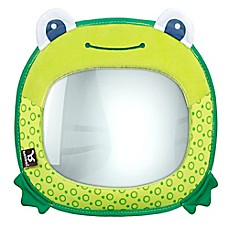 image of benbat™ Travel Friends Frog Car Back Seat Mirror