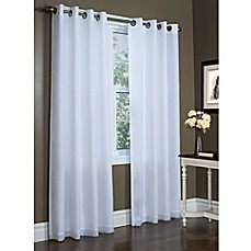 Image Of Commonwealth Home Fashions Rhapsody Grommet Top Window Curtain  Panel