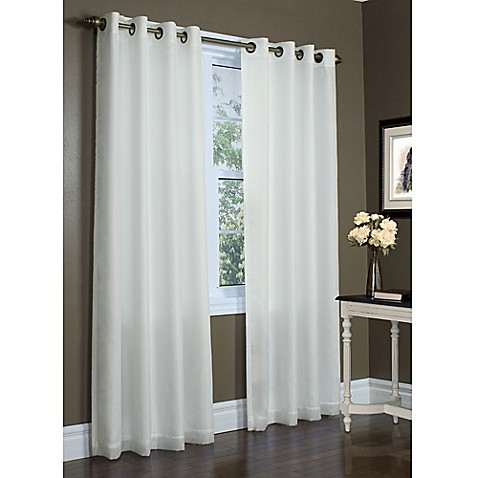 Buy commonwealth home fashions rhapsody 63 inch double for Double width curtain lining
