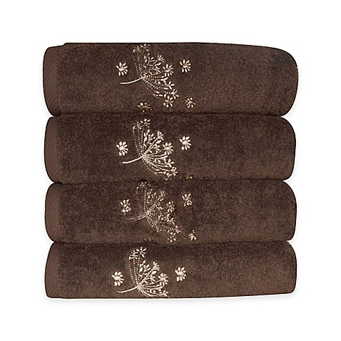 Camilla Embroidered Hand Towels Bed Bath Amp Beyond