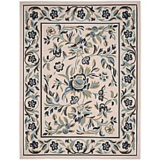 image of Garden Blue 8-Foot x 10-Foot Indoor/Outdoor Area Rug