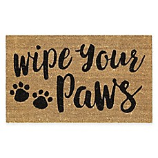 image of Mohawk Home Wipe Your Paws Coir Door Mat