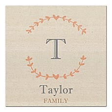 image of Family Name Canvas Wall Art
