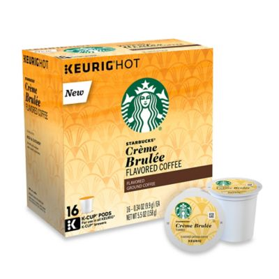 Starbucks for Keurig 16-Count Creme Brulee Coffee for Single Cup Coffee Makers - Bed Bath & Beyond