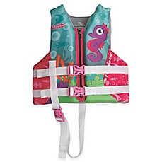 image of Coleman® Stearns® Child's Seahorse Hydroprene Vest in Purple