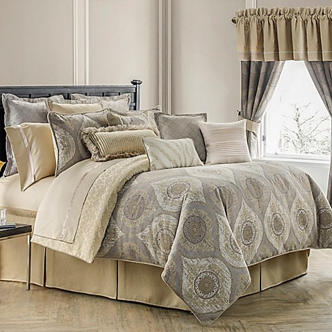 Buy Waterford 174 Linens Marcello Reversible King Comforter