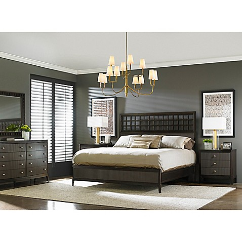 Stanley Furniture Wicker Park Wood Panel Bedroom Furniture Collection In Brownstone Bed Bath