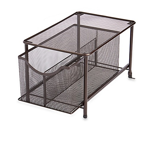 Buy Org Large Under The Sink Mesh Slide Out Cabinet