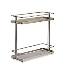 image of .ORG 2-Tier Cabinet Organizer in Nickel