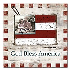 image of Pied Piper Creative God Bless America Canvas Wall Art