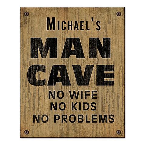 No Problem Cave Canvas Wall Art - Bed Bath & Beyond