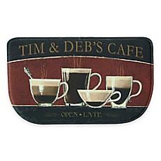 Beau Bacova Coffee Shop 18 Inch X 29.5 Inch Memory Foam Kitchen Rug