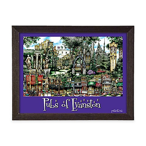 Buy Pubs Of Evanston Framed Wall Art From Bed Bath Beyond