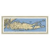 Long Island Wall Art map of long island framed wall art - bed bath & beyond