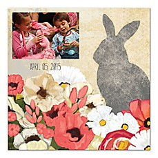 image of Hoppy Easter Digitally Printed Canvas Wall Art