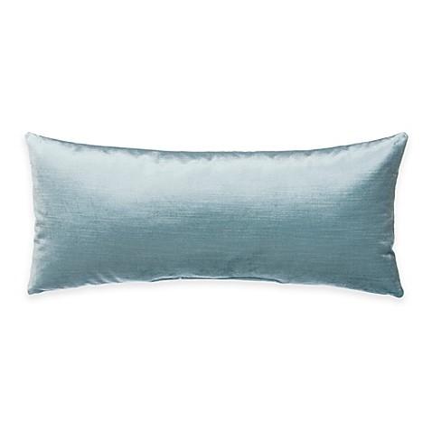 Glenna Jean Traffic Jam Oblong Velvet Throw Pillow in Blue - buybuy BABY