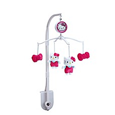 image of Hello Kitty® Cute as a Button Musical Mobile