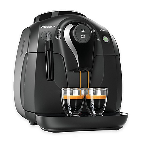 saeco coffee maker how to use